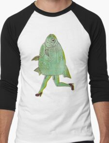 The Reverse Mermaid Men's Baseball ¾ T-Shirt