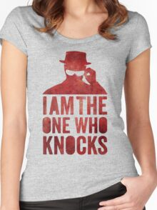 I am the one who knocks Women's Fitted Scoop T-Shirt
