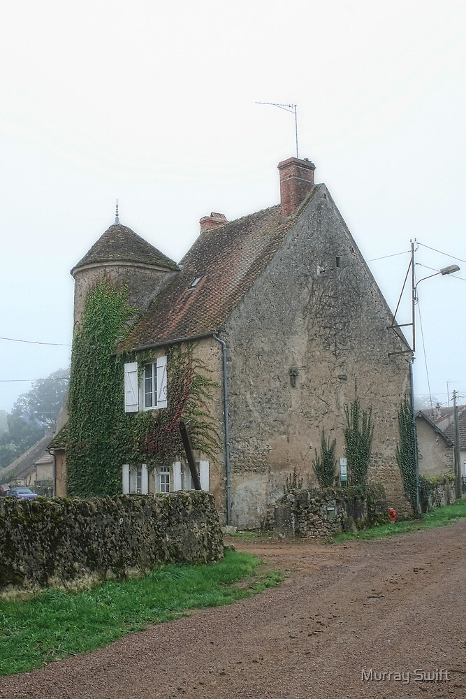 French farmhouse by Murray Swift