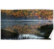Clayton Lake At Daybreak Poster