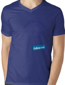 Compass Mens V-Neck T-Shirt