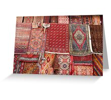 Turkish rugs Greeting Card