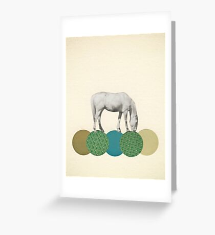 Graze Greeting Card