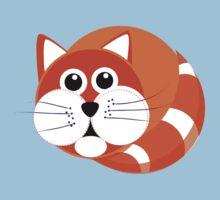 Ginger Cat Puss - T Shirt Kids Clothes