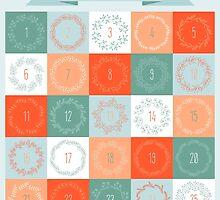 Christmas advent calendar by OkPen
