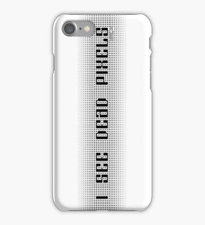 I See Dead Pixels iPhone Case/Skin