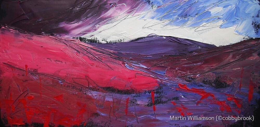 'Autumn Fire, Barden Moor' by Martin Williamson (©cobbybrook)