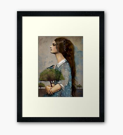 Plant Me a Tree Framed Print