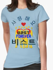 ㋡♥♫Love B2ST Forever Splendiferous Clothes & Stickers♪♥㋡ Womens Fitted T-Shirt