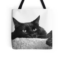 Pooh Bear in Black & White Tote Bag