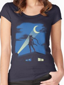 Moon Knight Rises Women's Fitted Scoop T-Shirt