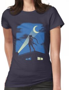Moon Knight Rises Womens Fitted T-Shirt