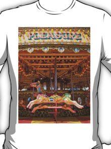 Pleasure - Seaside carousel Brighton UK T-Shirt