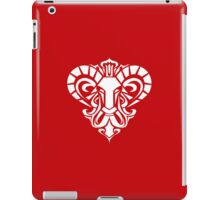 Zodiac Sign Aries White iPad Case/Skin