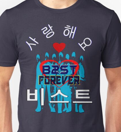 ㋡♥♫Love B2ST Forever Splendiferous Clothes & Stickers♪♥㋡ Unisex T-Shirt