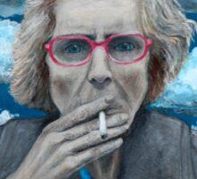 Myles Williams Fine Art - Red Spectacles Sticker