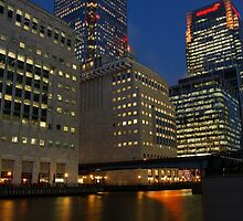 Canary Wharf by Iain McGillivray