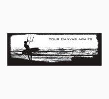 Kitesurf T - 'Your Canvas awaits' by enphoto