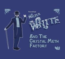 Walter White and the Crystal Meth Factory by Faniseto