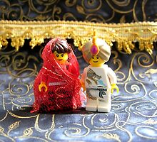 Lego Hindu Wedding by arlain