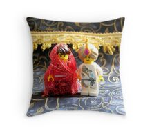 Lego Hindu Wedding Throw Pillow