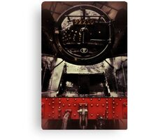 Tank Engine Canvas Print