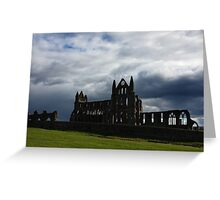 Whitby Abbey 1 Greeting Card