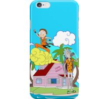 Rick and Morty Holidays iPhone Case/Skin