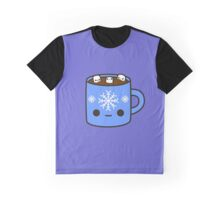 Mug of hot chocolate with cute marshmallows Graphic T-Shirt