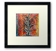 Wildfire  Tree of life No5   Framed Print