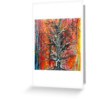 Wildfire  Tree of life No5   Greeting Card
