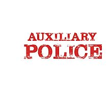 Smart Good Looking Auxiliary Police Photographic Print