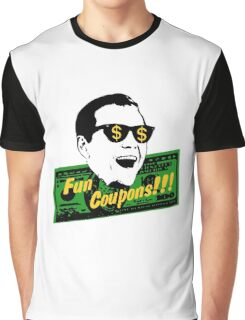 Fun Coupons! The Wolf of Wall Street Graphic T-Shirt