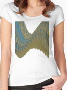 texture Women's Fitted Scoop T-Shirt