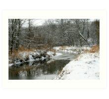 Reflections Of Winter Art Print