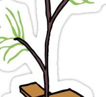 poor lil tree... Sticker