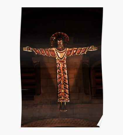 Southwell Minster-Crucifix Poster
