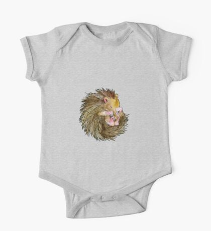 Sophie the Sleepy Hedgehog One Piece - Short Sleeve