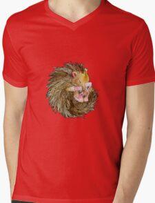 Sophie the Sleepy Hedgehog Mens V-Neck T-Shirt