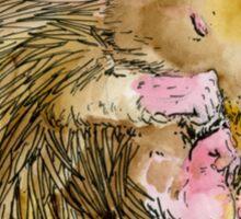 Sophie the Sleepy Hedgehog Sticker