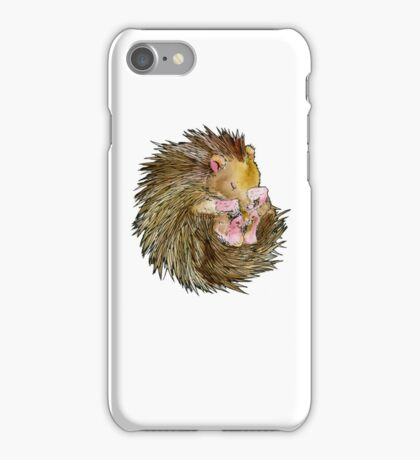 Sophie the Sleepy Hedgehog iPhone Case/Skin