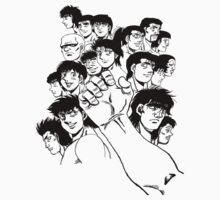 Hajime  No Ippo - Group by Balugix