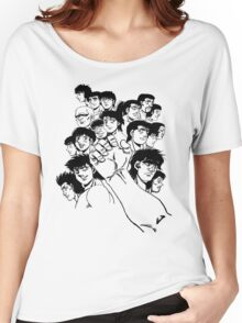 Hajime  No Ippo - Group Women's Relaxed Fit T-Shirt