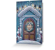Moomin Christmas Greeting Card