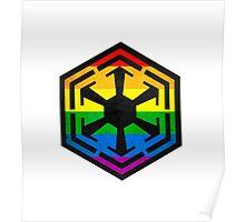 Rainbow Sith Poster