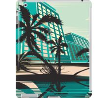 MIAMI IN TEAL iPad Case/Skin