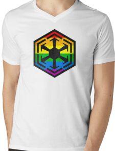 Rainbow Sith Mens V-Neck T-Shirt