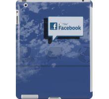 Fabebook iPad Case/Skin