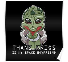 Thane Is My Space Boyfriend Poster