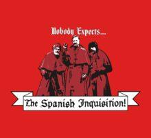 Monty Python - Spanish Inquisition by twistytwist